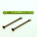 CNC Machined Alum. Front Hinge-pin brace kit (w/heat treated hinge-pins) for Stampede/Bigfoot/Rustler/Bandit/Slash 2wd (G)