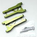 STRC CNC Machined Aluminum Rear A-Arms (w/hinge-pins) for Slash 2wd (Green) 1 pair