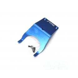 STRC Stampede Aluminum Front Skid Plate (Blue)