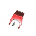 STRC Stampede Aluminum Front Skid Plate (Red)