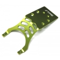 Stampede/Slash Aluminum Rear Skid Plate (Green)