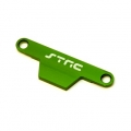 CNC Machined Alum. Batter hold-down Plate for Stampede/Bigfoot (Green)