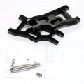 STRC Aluminum Front A-arm set for Traxxas Slash/Stampede/Rustler (1 pair) Black, limited