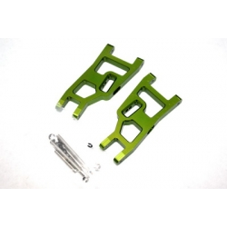 STRC Aluminum Front A-arm set for Traxxas Slash/Stampede/Rustler (1 pair) Green