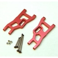 STRC Aluminum Front A-arm set for Traxxas Slash/Stampede/Rustler (1 pair) Red
