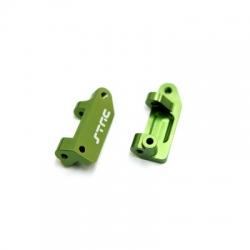 Stampede/Rustler/Slash Alum. Caster Blocks (Green)