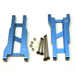 STRC Aluminum Rear A-arm set for Traxxas Stampede/Rustler (1 pair) Blue