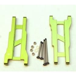 STRC Aluminum Rear A-arm set for Traxxas Stampede/Rustler (1 pair) Green