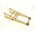STRC CNC Machined Aluminum Wheelie bar kit for Slash 2WD/Rustler/Bandit (Gold, Limited)