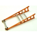 STRC CNC Machined Aluminum Wheelie bar kit for Slash 2WD/Rustler/Bandit (Orange)