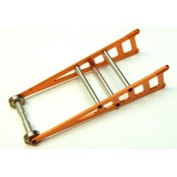 STRC CNC Machined Aluminum Wheelie bar kit for Slash 2WD/Rustler/Bandit (Orange)