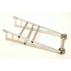 STRC CNC Machined Aluminum Wheelie bar kit for Slash 2WD/Rustler/Bandit (Silver)