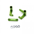 STRC Aluminum Steering Bellcrank Set (w/bearings) for Slash/Rustler/Bandit (Green)