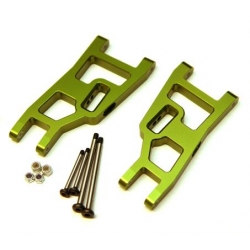 STRC Aluminum Front A-arm set for Traxxas Slash/Stampede/Rustler (1 pair) Green