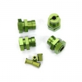 STRC Performance 17mm Hex Conversion Kit for Slash, Stampede, Rustler and Bandit (Green)