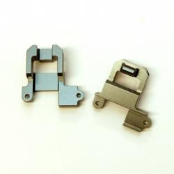 CNC Machined Aluminum Rear Shock Towers TRX-4 (1 pair) Gun Metal