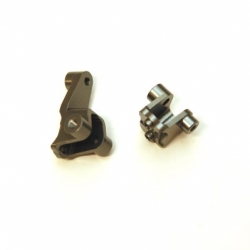 CNC Machined Alum. Front Lower Shock Mount (1 pair) for Traxxas TRX-4 (GM)