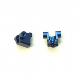 CNC Machined Alum. Rear Lower Shock Mount (1 pair) for Traxxas TRX-4 (B)