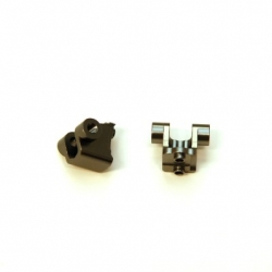 CNC Machined Alum. Rear Lower Shock Mount (1 pair) for Traxxas TRX-4 (GM)
