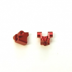 CNC Machined Alum. Rear Lower Shock Mount (1 pair) for Traxxas TRX-4 (R)