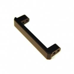 CNC Machined Alum. Heavy Duty Rear Bumper Eliminator Brace, TRX-4 (Black)