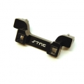 CNC Machined Alum. Heavy Duty Rear Bumper Mount, TRX-4 (Black)