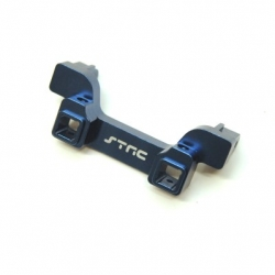 CNC Machined Alum. Heavy Duty Rear Bumper Mount, TRX-4 (Blue)