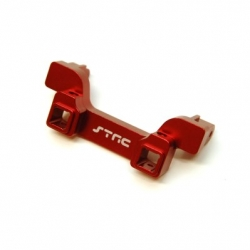 CNC Machined Alum. Heavy Duty Rear Bumper Mount, TRX-4 (Red)