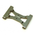 CNC Machined Alum. Solid one-piece HD rear chassis brace for TRX-4 (GM)