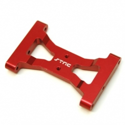 CNC Machined Alum. Solid one-piece HD rear chassis brace for TRX-4 (R)