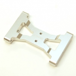 CNC Machined Alum. Solid one-piece HD rear chassis brace for TRX-4 (S)