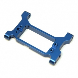 CNC Machined Alum. Solid one-piece HD Servo Mounting bracket/chassis brace TRX-4 (B)