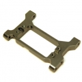 CNC Machined Alum. Solid one-piece HD Servo Mounting bracket/chassis brace TRX-4 (GM)