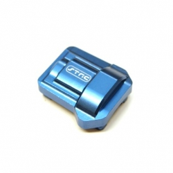 CNC Machined Aluminum HD Diff Cover for Traxxas TRX-4 (Blue)