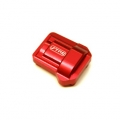 CNC Machined Aluminum HD Diff Cover for Traxxas TRX-4 (Red)