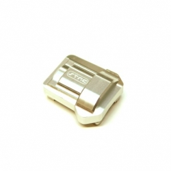 CNC Machined Aluminum HD Diff Cover for Traxxas TRX-4 (Silver)