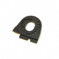 CNC Machined Alum. Motor Mount for Traxxas TRX-4 (Black)