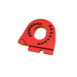 CNC Machined Alum. Motor Mount for Traxxas TRX-4 (Red)