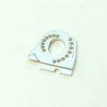 CNC Machined Alum. Motor Mount for Traxxas TRX-4 (Silver)
