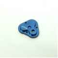 CNC Machined Aluminum Center Gearbox Housing Cover for TRX-4 (Blue)