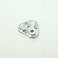 CNC Machined Aluminum Center Gearbox Housing Cover for TRX-4 (Silver)