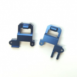 CNC Machined Aluminum Front Shock Tower/Panhard Mount TRX-4 (1 pair) Blue