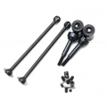 ST Racing Concepts Heat Treated Steel universal driveshaft set for Slash 2WD