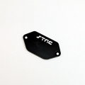 CNC Machined Alum. ESC Plate for Vaterra Ascender (Black)