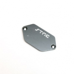 CNC Machined Alum. ESC Plate for Vaterra Ascender (Gun Metal)