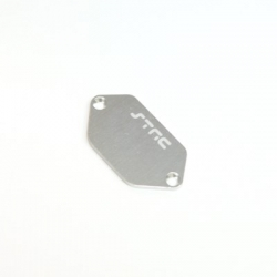 CNC Machined Alum. ESC Plate for Vaterra Ascender (Silver)
