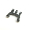 CNC Machined Alum. Rear Upper Link Mount (Gun Metal)