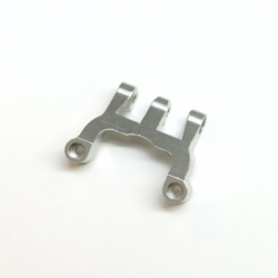 CNC Machined Alum. Rear Upper Link Mount (Silver)