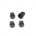 CNC Machined Aluminum Upper Shock Caps (4pcs) for Vaterra Ascender, GM