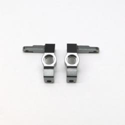 CNC Machined Aluminum Front Steering Knuckles for Ascender/Bronco (Gun Metal) 1 pair